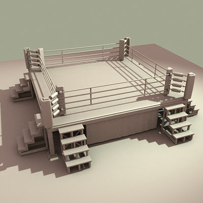 how to draw a boxing ring